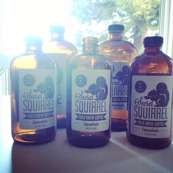 Secret Squirrel Cold Brew COffee