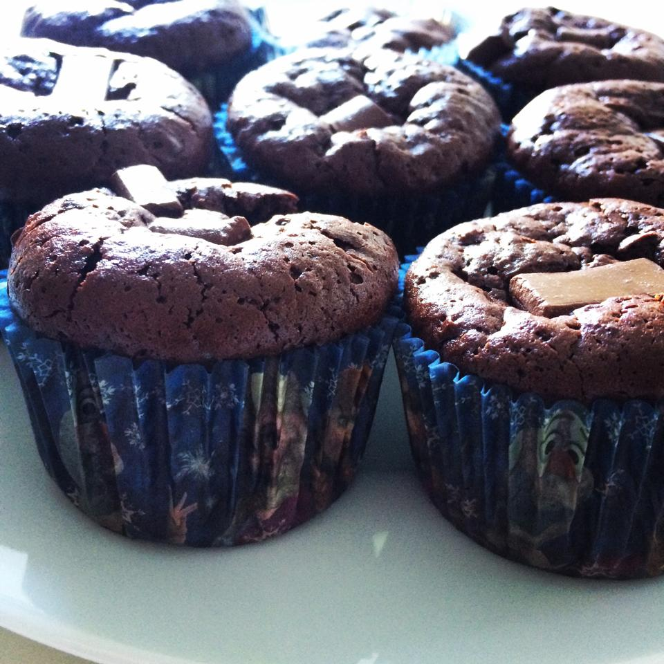 Gluten Free Paleo Chocolate Muffins