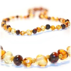 Baltic Amber Necklace for teething