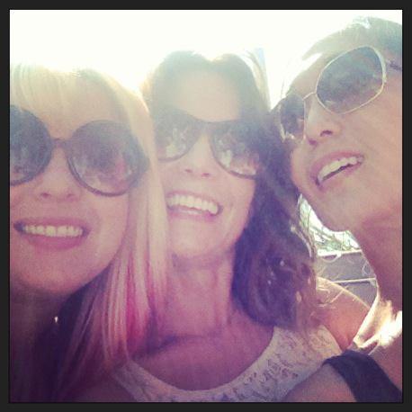 Friends Mary Klimek, Nadja Brunner and me