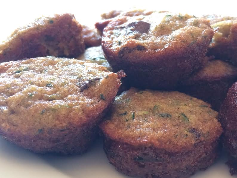 Healthy Zucchini Muffins - gluten free and paleo, naturally