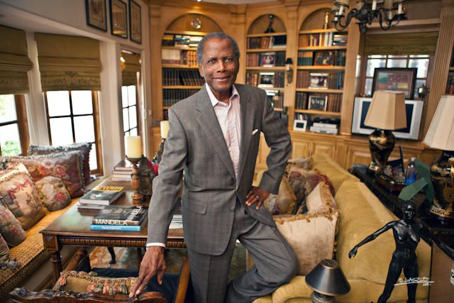 SIR SIDNEY POITIER INTERVIEW