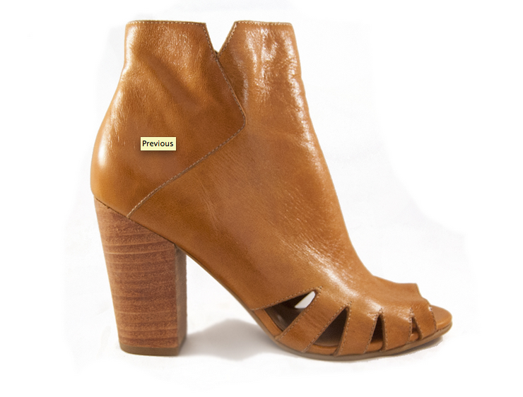 Fortress of Inca Peep Toe Beige