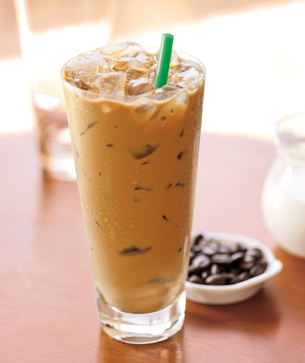 Starbucks Vegan Iced Latte