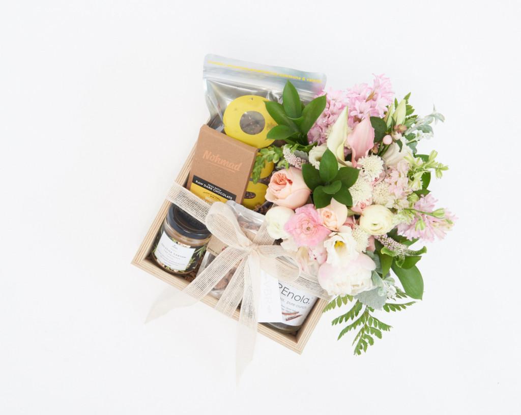 Valleybrink Road gift basket - for the gluten free goddess