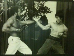 Grandmaster Greg Williams (L) and Grandmaster Jun Chong (R)