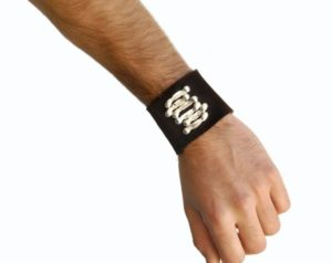 LEATHER CUFF BY JESSE INTERNATIONAL