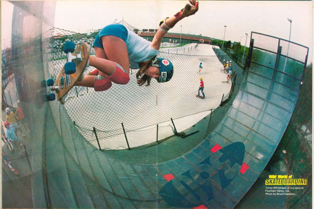 PRO SKATER CINDY WHITEHEAD