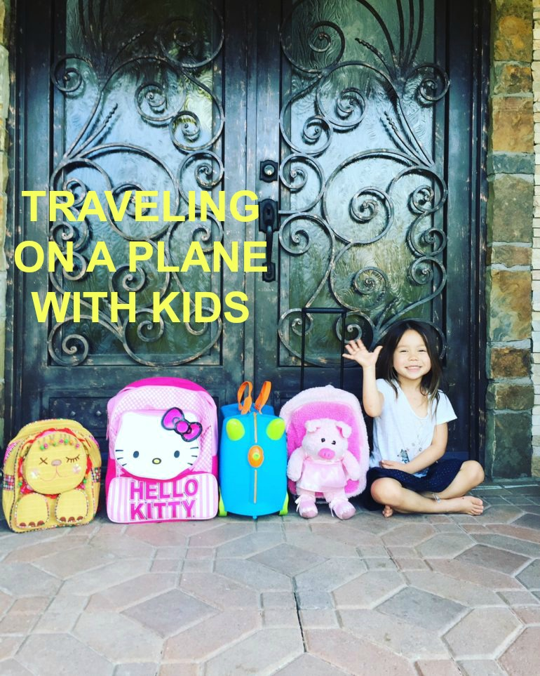 tips on flying with kids