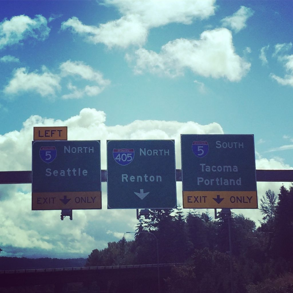 SEATTLE Sign