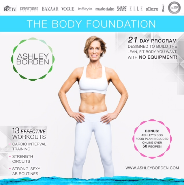 Ashley Borden's the body foundation challenge