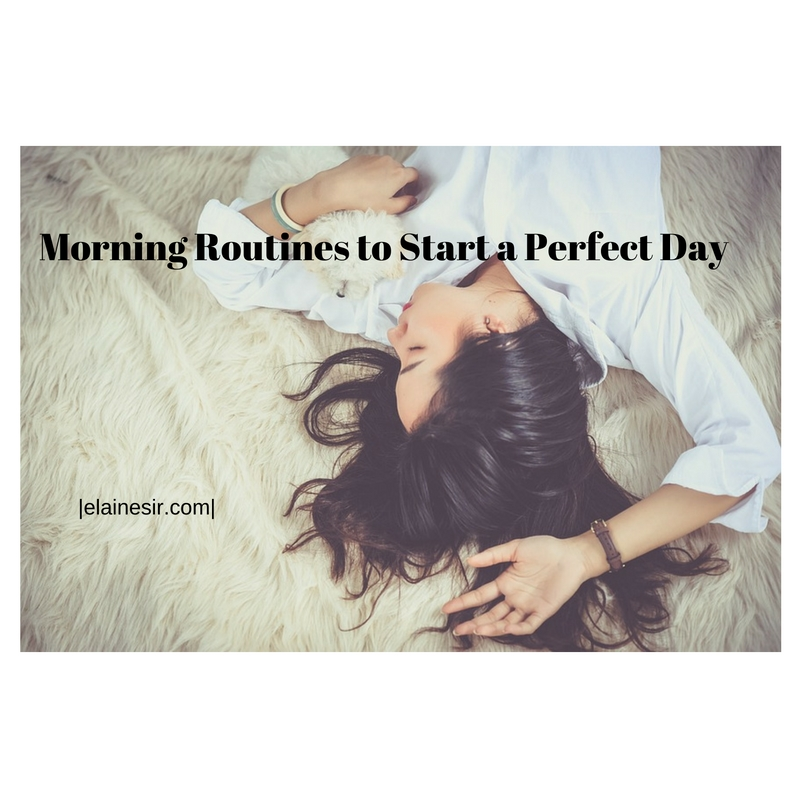 healthy morning routine
