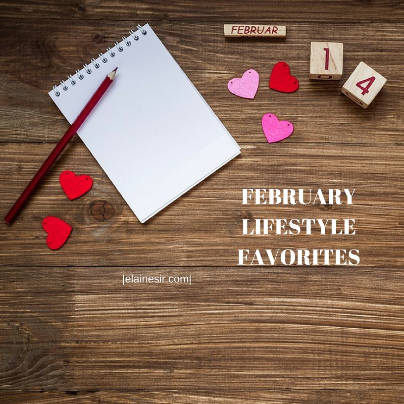FEBRUARY LIFESTYLE FAVORITES