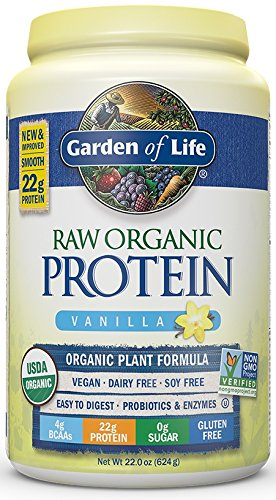 GARDEN OF LIFE Protein Powder - raw and organic