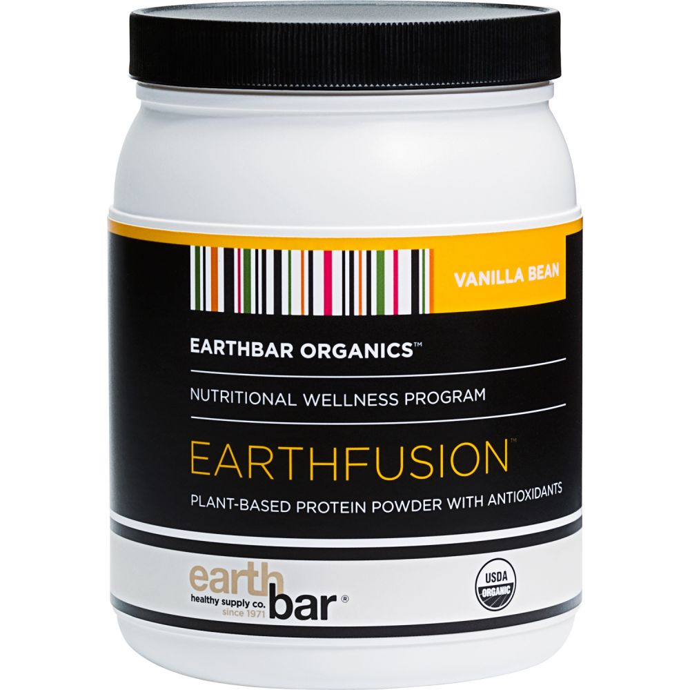 Earth Fusion protein powder, one of the BEST PROTEIN POWDERS FOR VEGANS AND VEGETARIANS