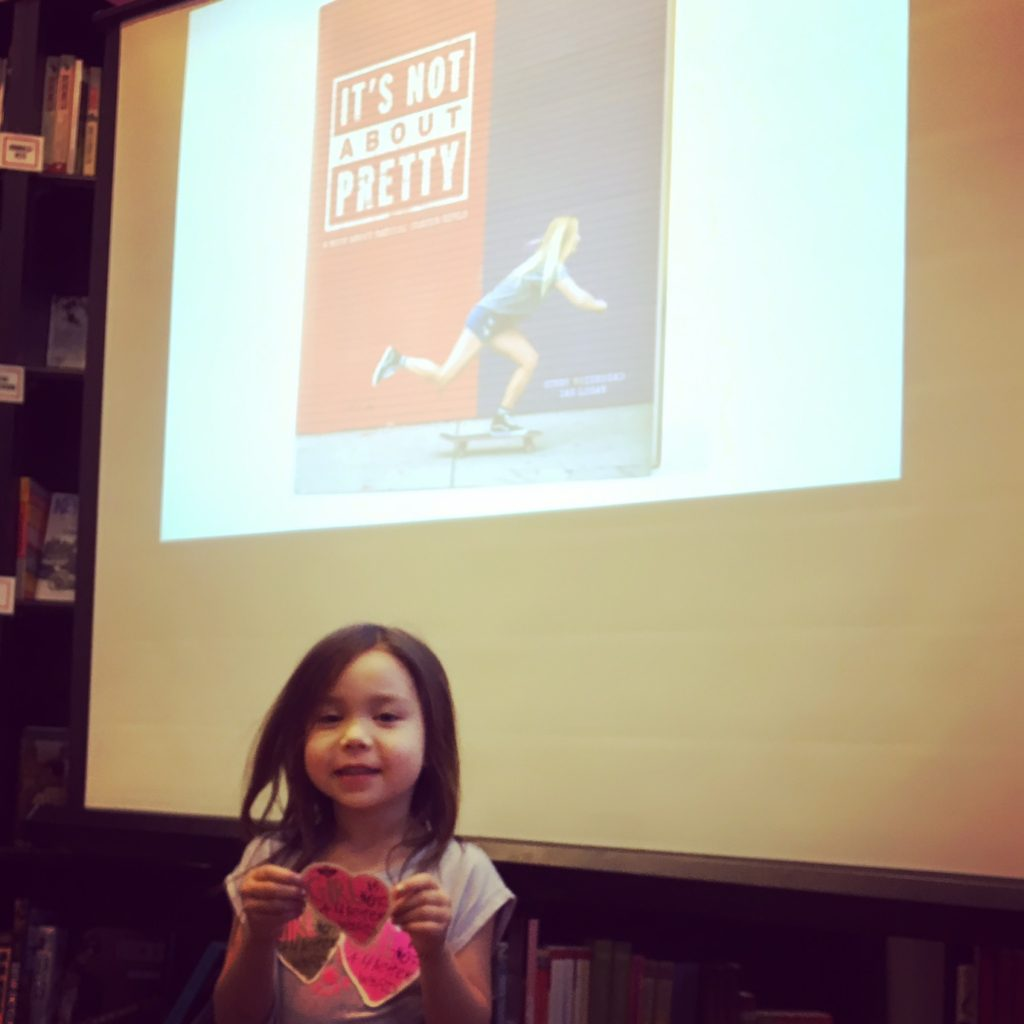 kit at book event: it's not about pretty