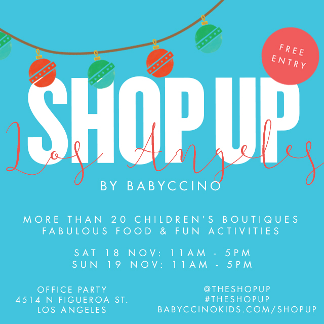 BABYCCINO SHOP UP evet poster