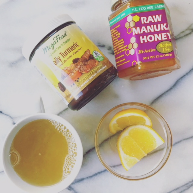 TURMERIC LEMON HONEY ELIXIR