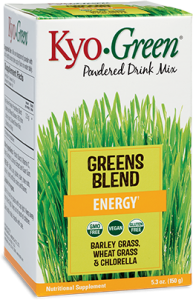 wellness products you need include Kyo Green blend