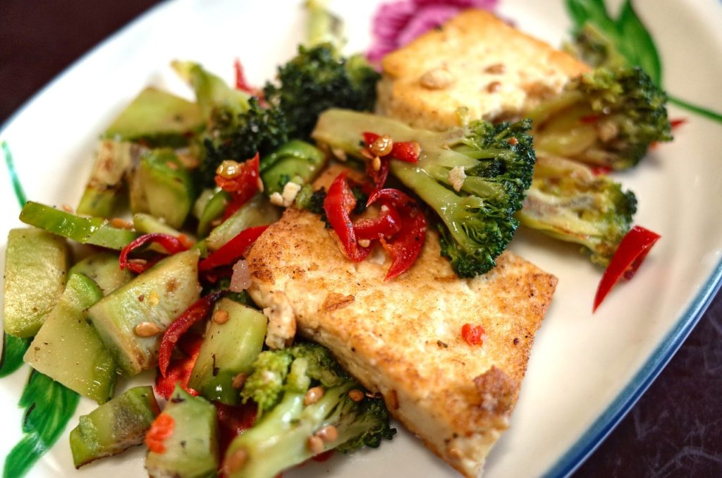 PAN FRIED SOFT TOFU