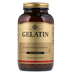 GELATIN PILLS FOR HAIR GROWTH
