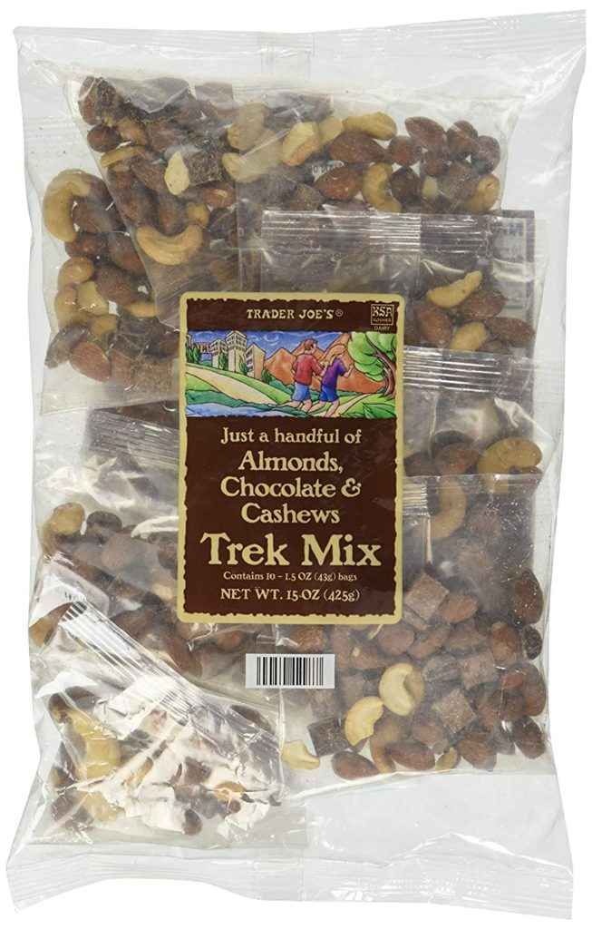 TRAIL MIX FROM TRADER JOES