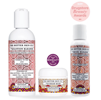 THE BETTER SKIN CO. CLEANSER AND MOISTURIZER SPECIAL - Elaine Sir