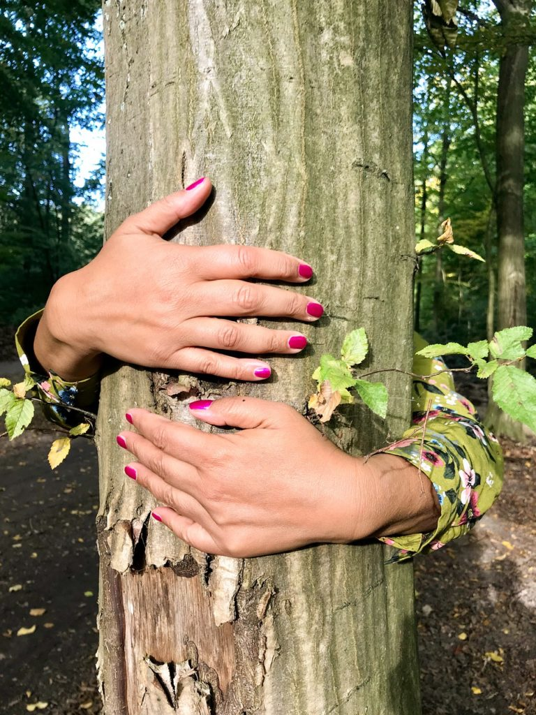 HOW TO CONNECT WITH NATURE - Tree Hugging