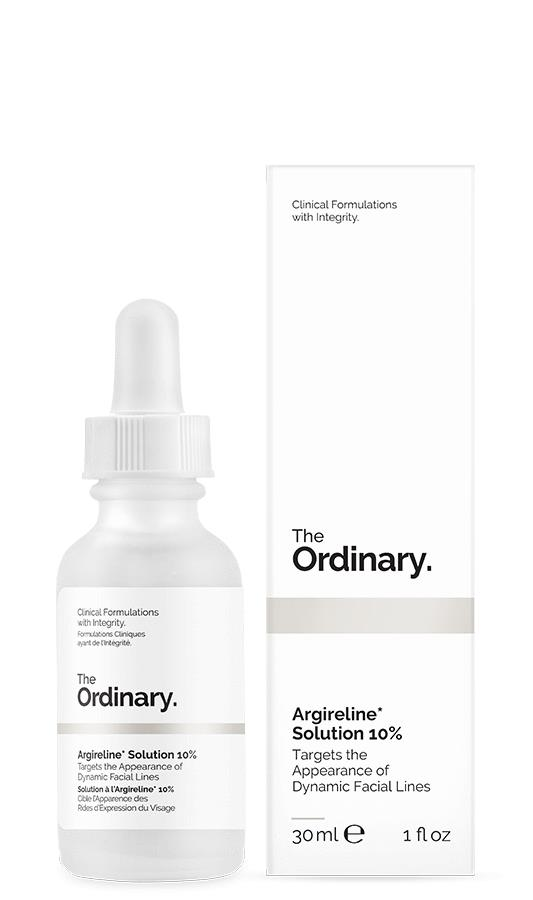 The Ordinary Argireline Solution 10% review
