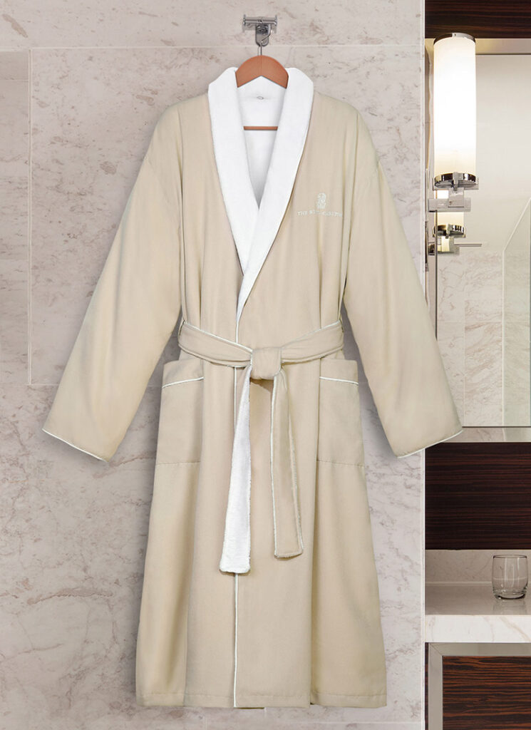 BACARA BATHROBE as one of the mothers day gift guide option