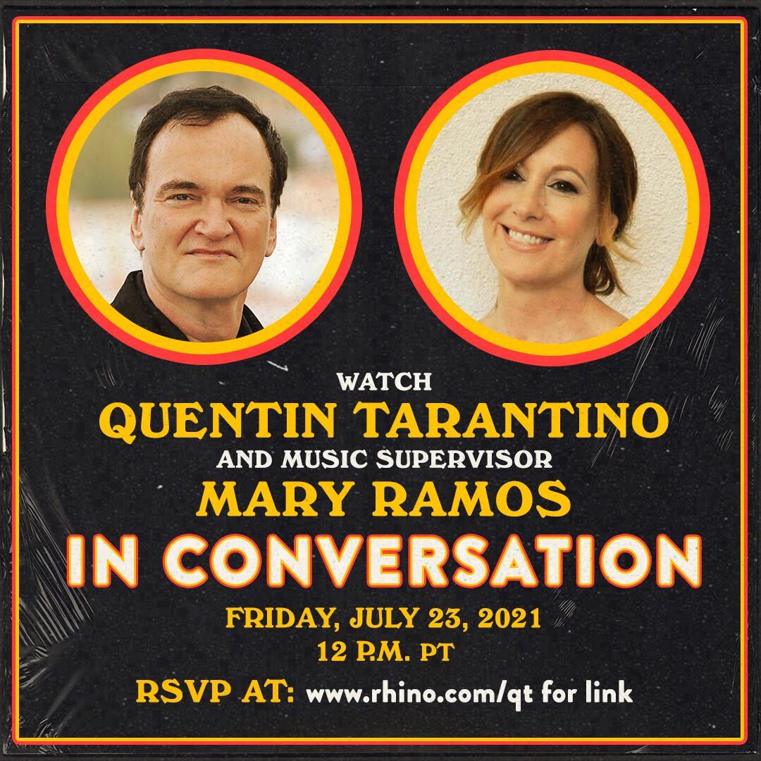 QUENTIN TARANTINO SOUNDTRACKS with Mary Ramos