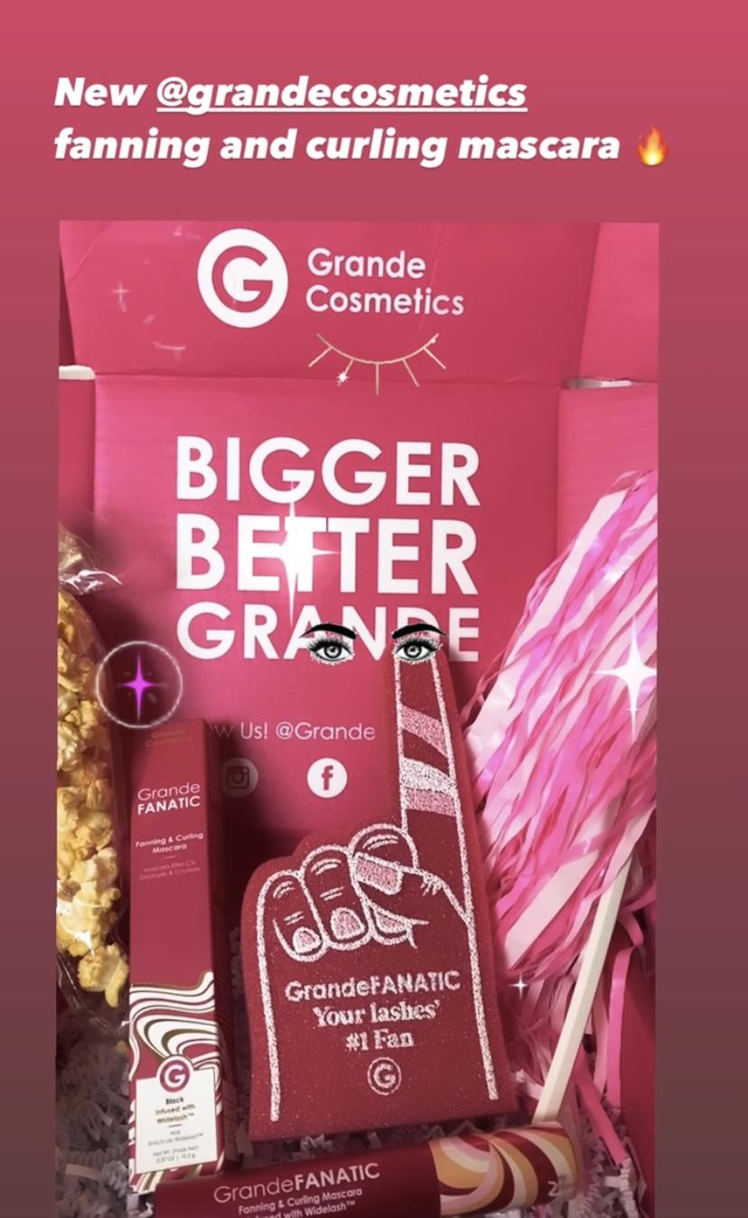 GrandeFANATIC mascara in its packaging