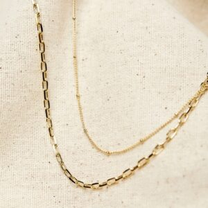 EACH Jewels Layering Necklace Set